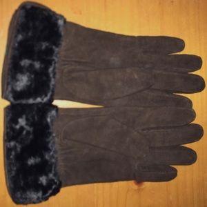 🎁 Ralph-Lauren 100% Leather Gloves